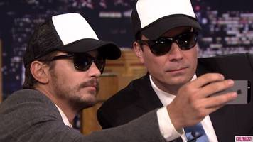 Watch: James Franco Gives Jimmy Fallon a Fan Selfie Lesson