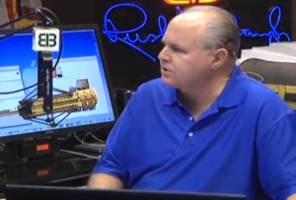 limbaugh on ray rice's fiancée: 'how bad could it have been if she said yes?'