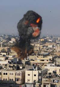 Israel continues air & ground offensive in Gaza