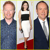 julia louis-dreyfus celebrates emmy awards 2014 at performers peer group event!